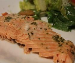 Salmone in Agrodolce