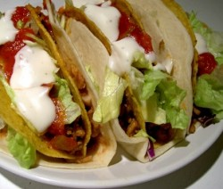 tortillas con verdure grigliate