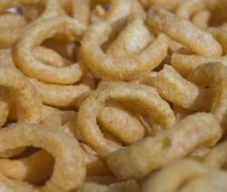anelli di cipolla in pastella di birra