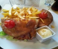 sandwich pollo e bacon