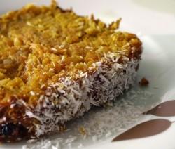 torta cocco e noci
