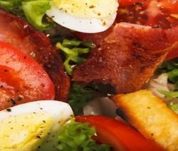 insalata con salsa agrodolce
