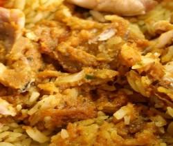 pollo piccante con riso