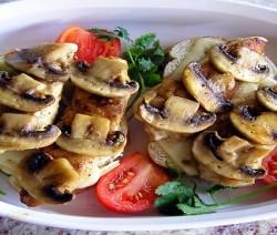 bruschetta fontina e funghi