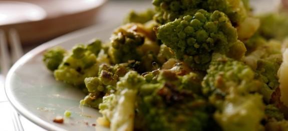 Broccolo romano croccante ricette facili e veloci for Secondi romani