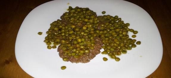 hamburger in padella con pisellini | ricette facili e veloci - Come Cucinare Gli Hamburger In Padella