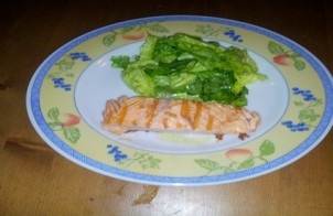 filetti di salmone all'arancia