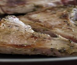 bistecche di capocollo speziate