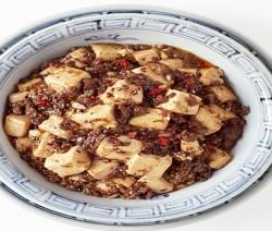 bocconcini di tofu con purea di lenticchie piccanti