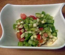 insalata di pomodori e mela