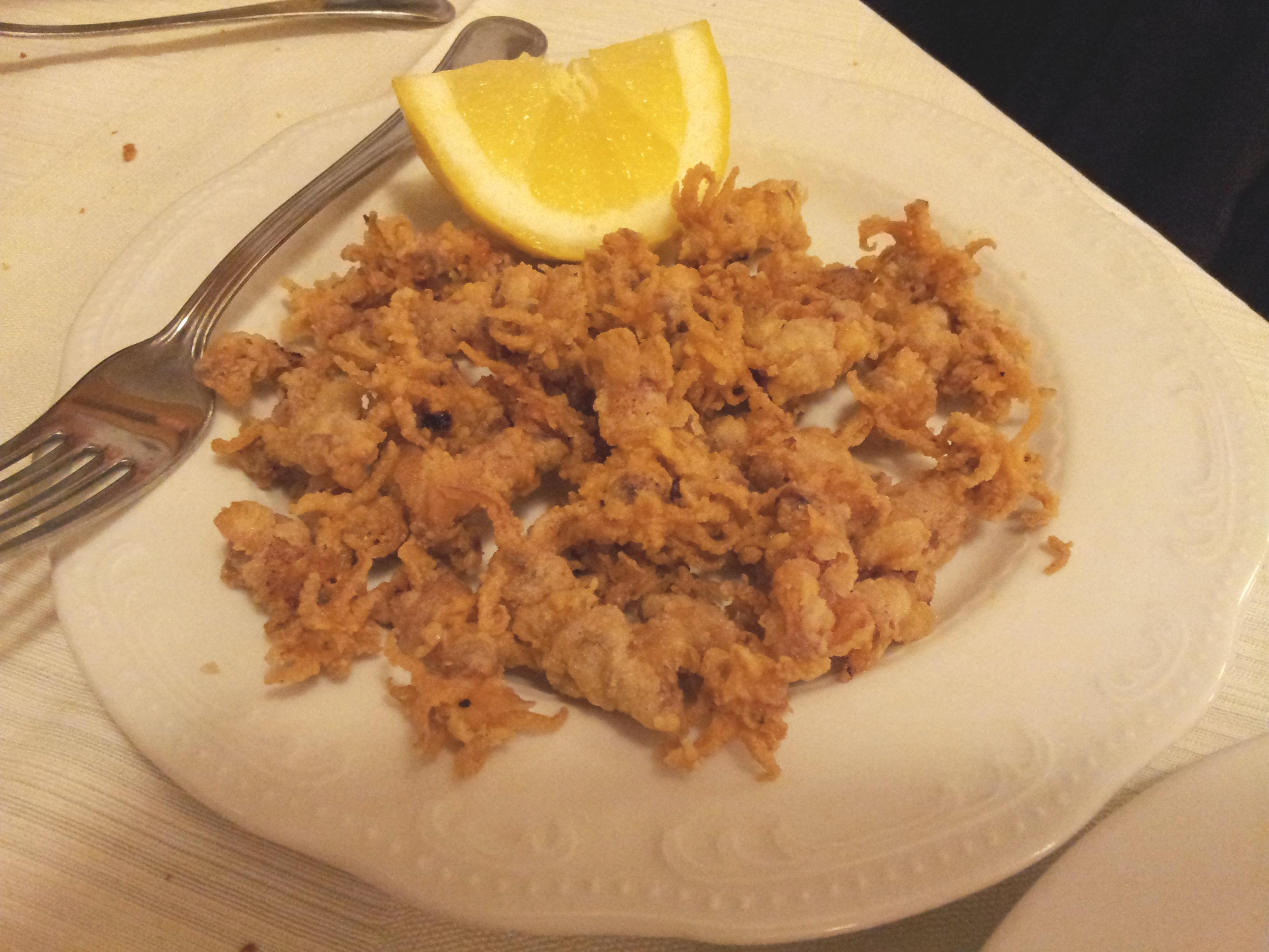 Moscardini impanati con farina di mais ricette fondamentali for Ricette esotiche