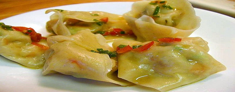 Ravioli al vapore con verdure mediterranee ricette a vapore mediterraneericettone - Forno a vapore ricette ...