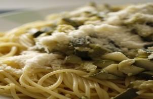 spaghetti con zucchine light