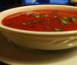 zuppa fredda di pomodoro bimby