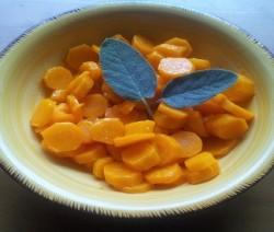 carote con senape e salvia