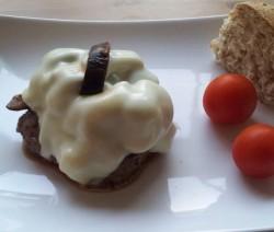 hamburger alla parmigiana