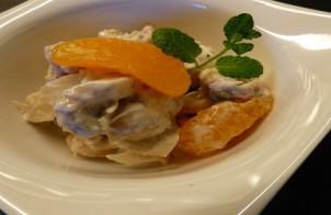 insalata di pollo al mandarino