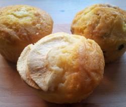 muffin alle mele e pistacchi