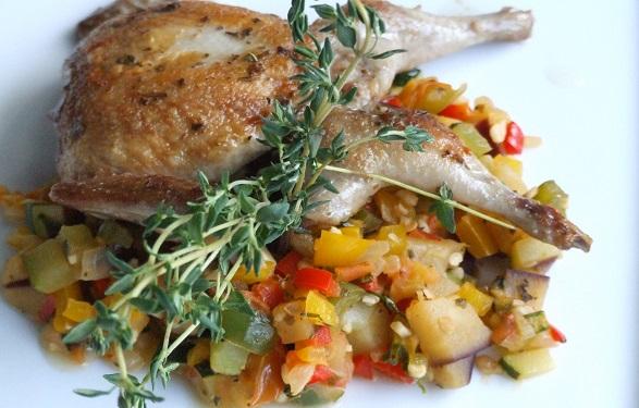 Quaglie agli aromi con dadolata di verdure ricette fondamentali stagionali e occasioni speciali - Aromi da cucina ...