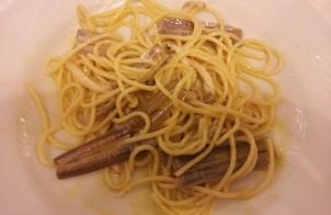 spaghettoni con cannolicchi