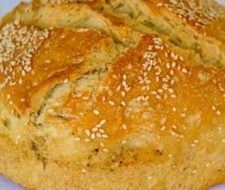 pane di castagne e noci