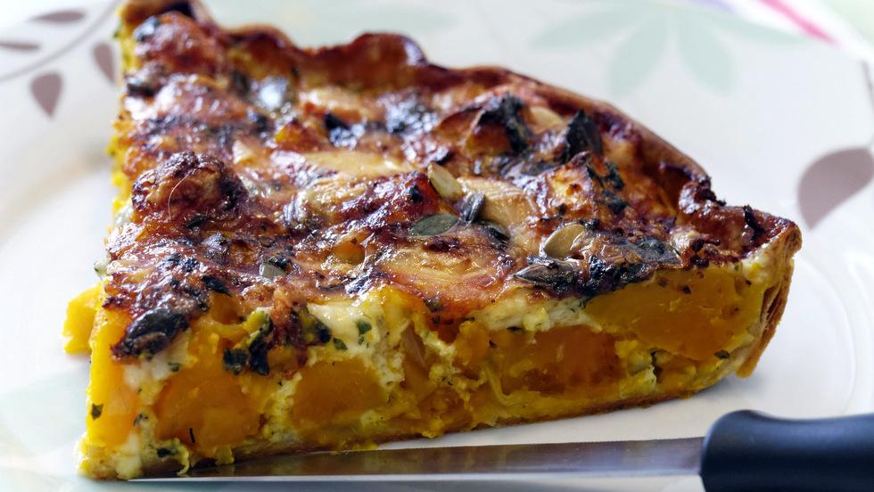 Frittata di zucca al forno ricette facili e veloci halloweenricettone - Forno a vapore ricette ...