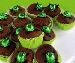 muffin mostruosi cioccolato e crema