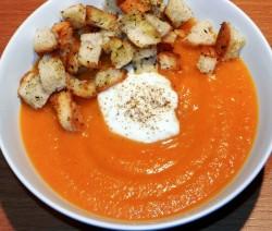 vellutata di carote e mascarpone