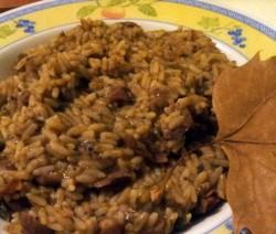 minestra di riso con scarola e fagioli