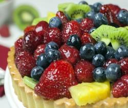 crostata di frutta senza glutine e lattosio