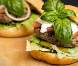 hamburger caprese