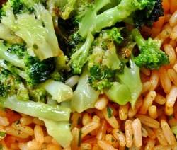 risotto al forno con salsiccia e broccoletti