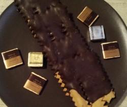 chiacchiere al cioccolato