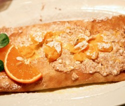 crepes all'amaretto
