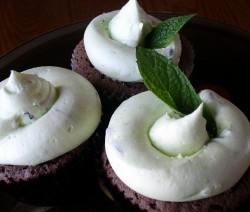 cupcakes cioccolato e menta