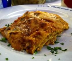 lasagna salsiccia e carciofi