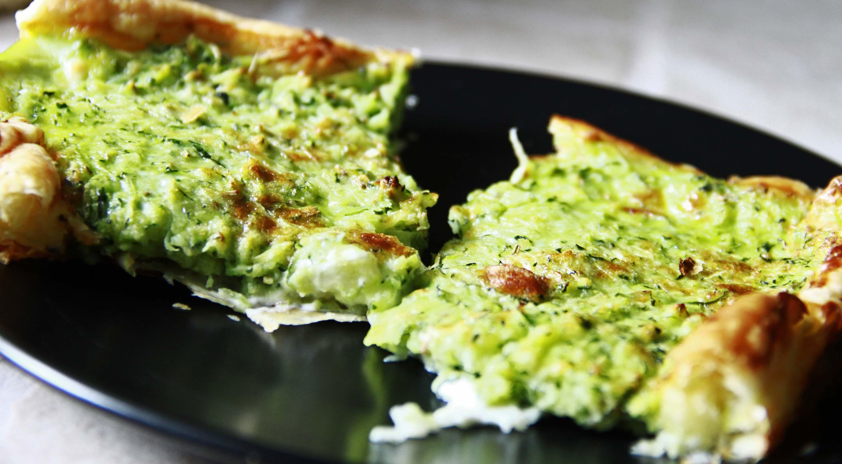 Torta salata di zucchine ricette al forno - Forno a vapore ricette ...