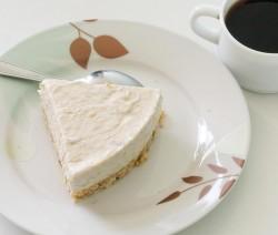 cheesecake con formaggio di soia